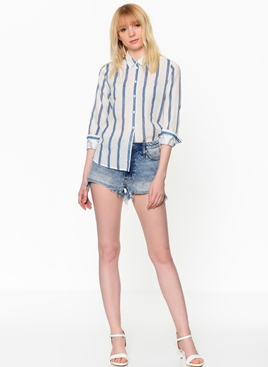 Çizgili Gömlek-Vero Moda